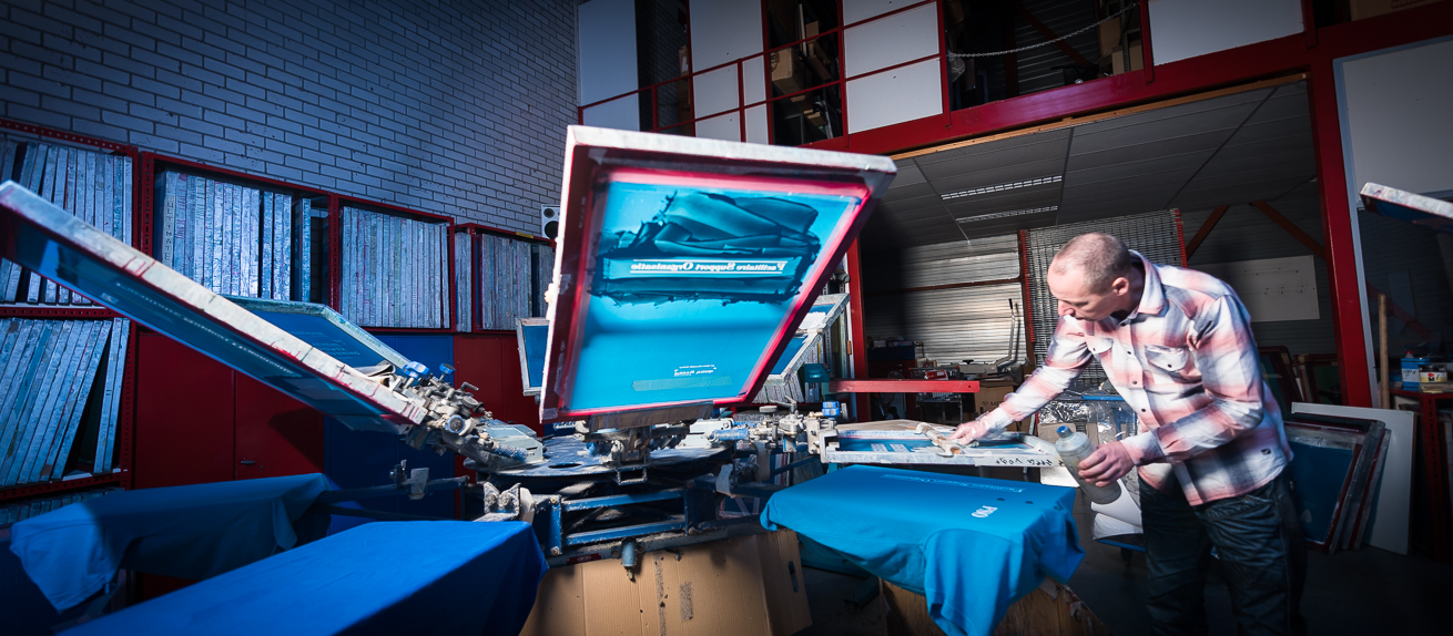 Drukkerij ultimate zoetermeer Zeefdrukkerij